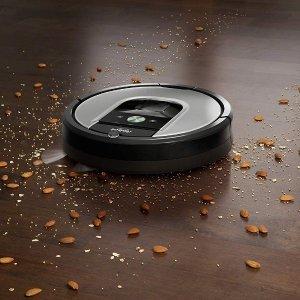 现价£599.99(原价£799)Robot Roomba 960 等精选 智能扫地机器人特卖