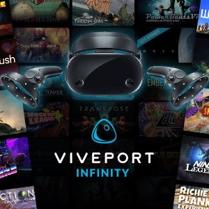 12-Month Viveport Infinity VR/Games/Videos Subscription