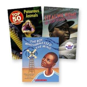 ScholasticGrades 3-5 国际主题书籍50本