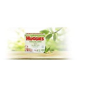 Huggies无香型宝宝湿巾,6袋,共288抽