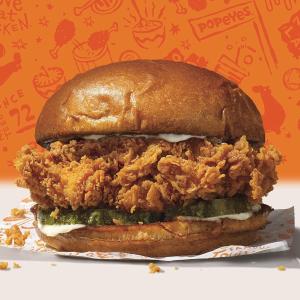 满$10免费送一份炸鸡汉堡Popeyes 周二限时优惠活动,T-Mobile用户独享福利