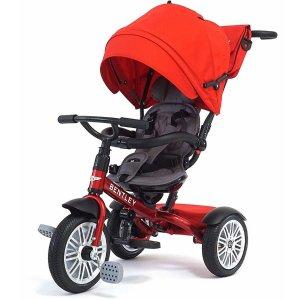 8折无税+包邮 豪华大气上档次Bentley 宾利6合1宝宝童车/儿童三轮车 四色可选