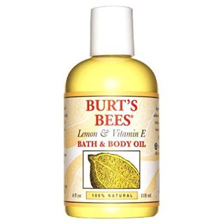 $5.2Burt's Bees 100% Natural Lemon and Vitamin E Body and Bath Oil - 4 Ounce Bottle @ Amazon