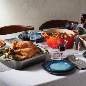 满$200送对杯 + 低至7折Le Creuset 精选高颜值珐琅铸铁锅及厨房用品热卖