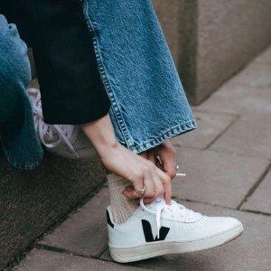 Veja黑尾小白鞋