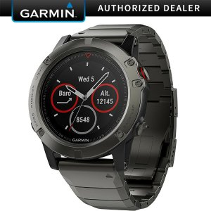 Garmin Fenix5 多功能光电心率GPS手表 47mm