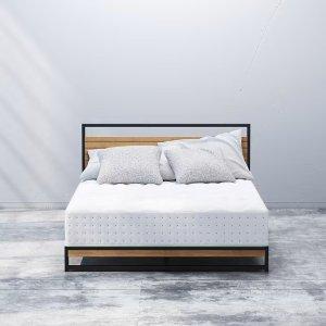 ZINUS减压橄榄油记忆棉弹簧床垫 Full