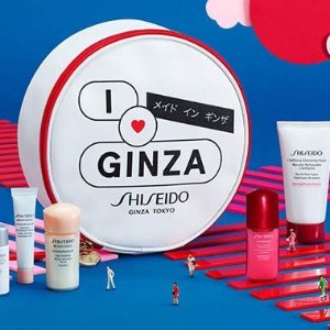 Receive a 6-pc Benefiance setwith any $75 Shiseido purchase @ Dillards