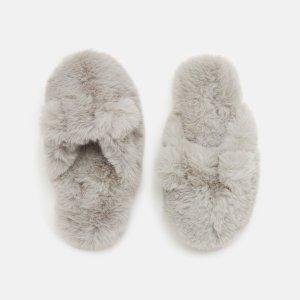 Joules儿童保暖拖鞋