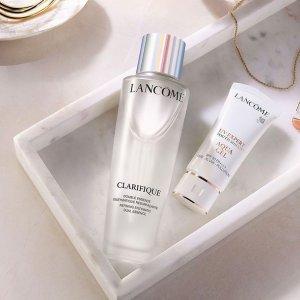 8折起 超值套装上新最后一天:Lancome 美妆护肤热卖 收油皮亲妈极光水 白管防晒