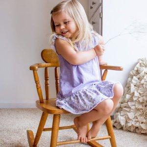 7折 有机棉打底裤$6.98/条最后一天:Burt's Bees Baby 幼小童有机棉服饰特卖