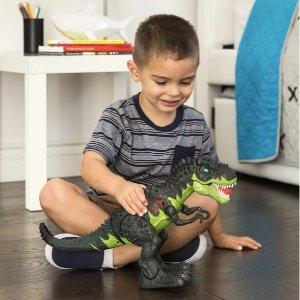 $14.99+包邮 养了只恐龙作宠物即将截止:Best Choice Products 会行走的恐龙玩偶 还会发光和发声