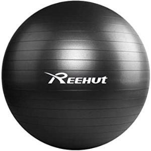 REEHUT 瑜伽球 黑色55cm