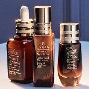 黑五同价圣诞倒计时:Estee Lauder 护肤产品全线7.3折 快收小棕瓶系列
