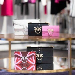 无门槛8.5折 燕子包$100+独家:Pinko 鞋包、衣服好价上新 多色多样式可选