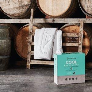 低至5.6折 Cool枕套$41.95Mini Jumbuk 柔软保暖羊毛系列促销  有夏款凉被