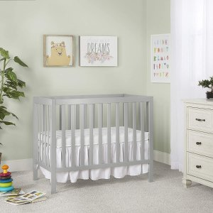 $128.99史低价:Drean On Me 4合1多功能婴儿床 任意组装