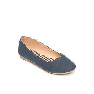 Crown & Ivy™女婴童花瓣芭蕾鞋