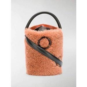 BoyyUmar shearling bucket bag