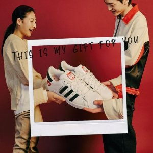 Adidas首次降价!抢!superstar情人节限定款