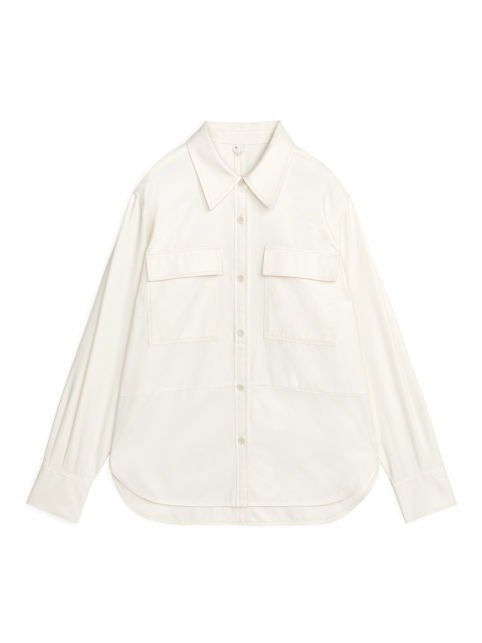 Twill 白色衬衫