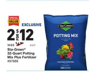 Sta-Green 64-Quart Potting Soil Mix