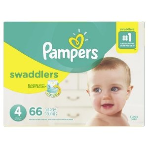 Pampersbuy 2 get $10 gift cardPampers Swaddlers Diapers Super Pack (Select Size)