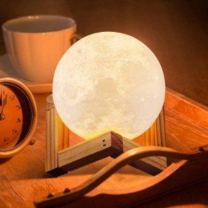 折后€17起 颜色亮度可调ICONNTECHS IT 创意月球灯热卖 摘下月亮送给ta