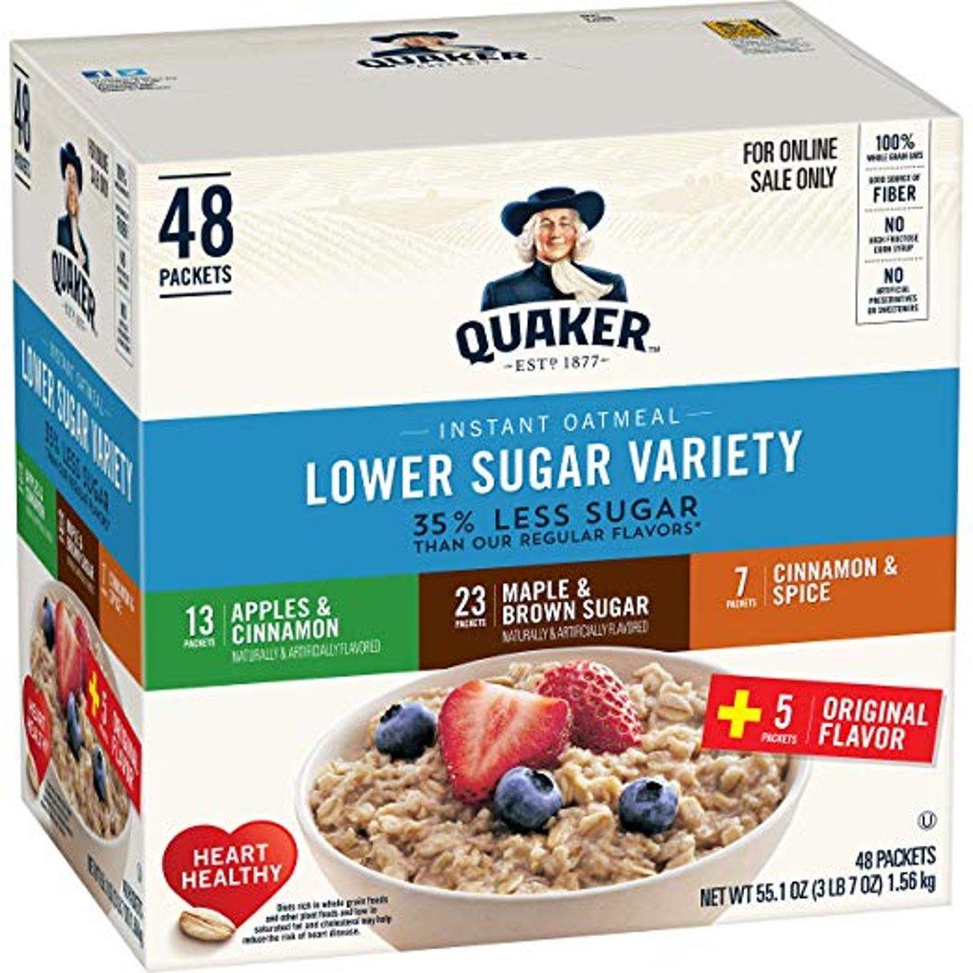 低糖早餐燕麦 3种口味 48 Counts