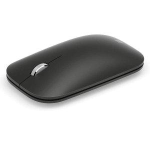 5.6折特价 现价€20(原价€35.99)Microsoft Modern 无线鼠标 黑色 在家办公必备