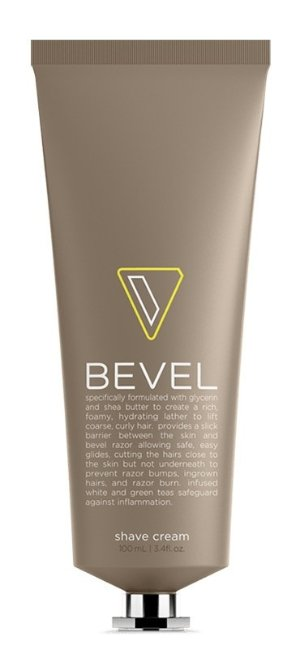 Bevel Shave System - Shave Cream, 3.4 Oz by Bevel