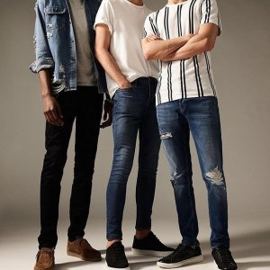 Get 2 pairs save $30Jeans @ Topman