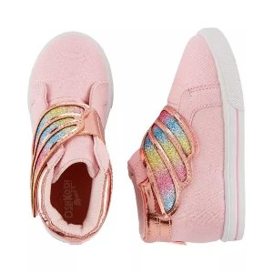 OshkoshRainbow Wing High-Top Sneakers