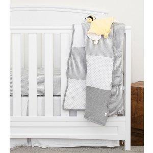 Burt's Bees BabyDottie Bee Organic Reversible Baby Quilt
