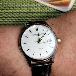 $395 (Orig$1,050)EXTRA $100 OFF FREDERIQUE CONSTANT Classics Index Automatic Men's Watch 303S5B6 Item No. FC-303S5B6