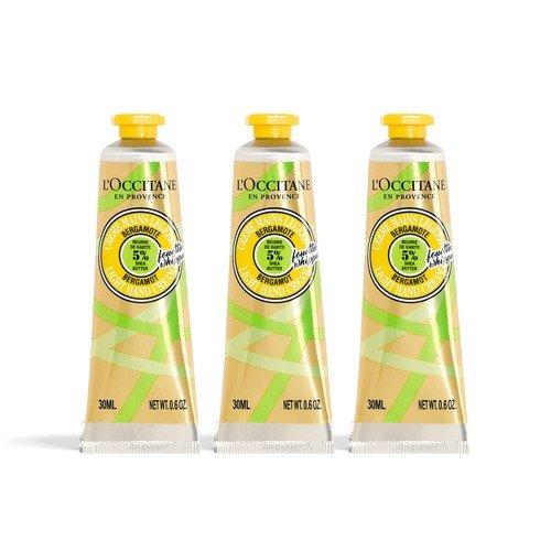 新版乳木果柠檬护手霜3支