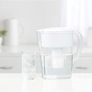 $17.97(原价$21.97)Brita 德国碧然德 家用滤水壶 6杯量 安心饮水 口感甘甜可口