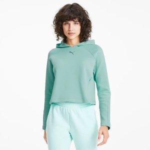 Puma绿色卫衣