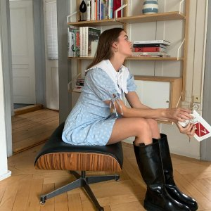 4.5折起 海狸同款T恤$132降价+上新:Ganni 小众北欧时髦 联名款卫衣、连衣裙$56