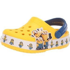 Crocs小黄人限定 儿童超爱小黄人款洞洞鞋