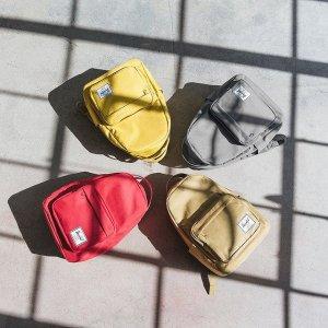 低至5折Herschel 折扣区上新 精选美包、配饰促销