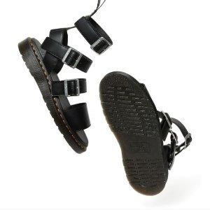 6折起 £71就收Dr.Martens官网 凉鞋清仓超低价 夏日必备