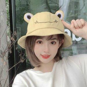 一律$13.99白菜价:夏季必备超可爱青蛙渔夫帽 6色可选 百搭显脸小