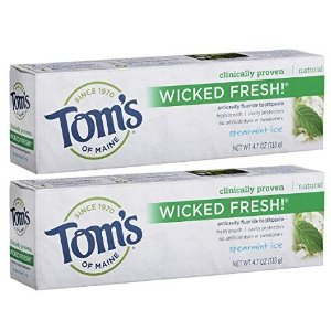 Tom's of Maine Ice Wicked Toothpaste 4.7oz 2 Pack