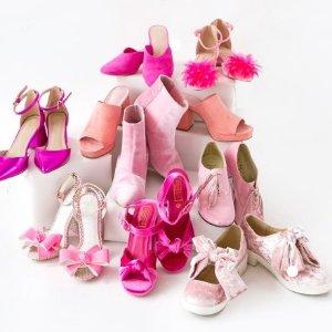 低至3折+包包额外8折Farfetch 粉红专场,今天也是小仙女