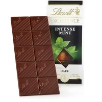 Lindt 薄荷黑巧克力