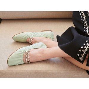 AerosolesRamen 链条芭蕾平底鞋