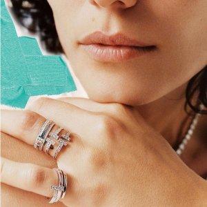 收蒂芙尼蓝T戒指NET-A-PORTER X Tiffany & Co. 合作款T系列热卖