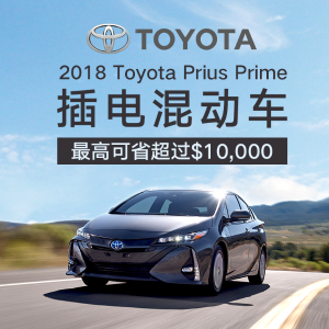 Year End2018 Toyota Prius Prime Plus Sale