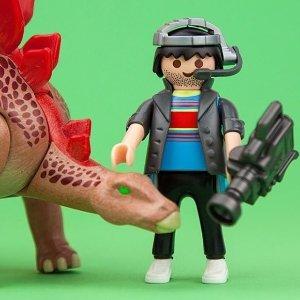 $119.99(原价$195.94)Playmobil 德国儿童创造性拼装玩具 超值恐龙套装震撼好价
